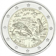 litauen-2-Euro-2021-biosphaerenreservat