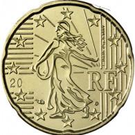Frankreich 20 Cent 2003 bfr. Säerin