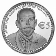 Zypern 5 Euro 2016 PP Silber  Dimitris Lupertis Silbermuenze