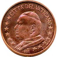 Vatikan 1 Cent  bfr. Papst Johannes Paul
