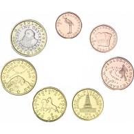 Slowenien Kursmuenzen KMS 1,88 Euro Jahrgang 2016 bfr.