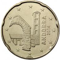 Andorra 20 Cent 2014 bfr.