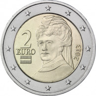 Österreich 2 Euro 2013 bfr. Berta von Suttner