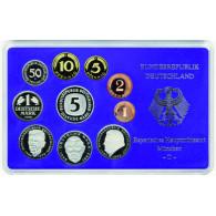 BRD 12,68 DM Kursmünzensatz 1992 PP 1 Pfennig bis 5 D-Mark