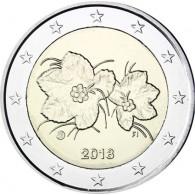 2 Euro Münze Moltebeere aus Finnland 2018