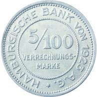 N 36 -  5/100 Verrechungsmarke Hamburger Bank 1923