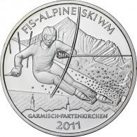 Gedenkmünze 10 Euro 2010 PP FIS Alpine Ski WM