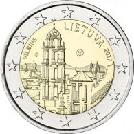 Litauen 2 Euro 2017 bfr. Vilnius - Stadt der Kultur und Kunst Gedenkmuenze