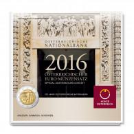 Österreich 3,88 Euro 2016 Hgh KMS 1 Cent bis 2 Euro 200 Jahre Nationalbank