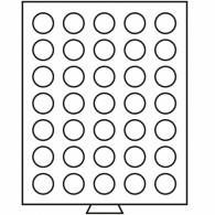 Leuchtturm:  331868 Münzenbox für 10-Euro-Münzen ohne Kapseln
