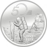 20 CHF Silber Schweiz 2019 - 50 J. Mondlandung Apollo 11 Münzkatalog bestellen