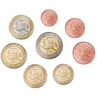 Litauen 3,88 Euro 2015 bfr. Die ersten Euromünzen lose
