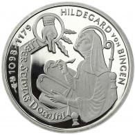 Deutschland 10 DM Silber 1998 PP Hildegard von Bingen Mzz. unserer Wahl