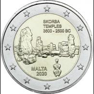 Malta-2-Euro-2020-Tempel-Skorba-Shop