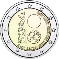 2 Euro Sondermünzen aus Estland von 2018
