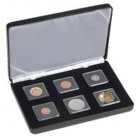 Münzetui Nobile für 6 Quadrum-Mini Münzkapseln