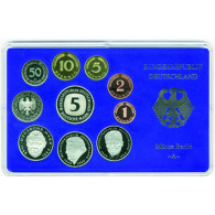 BRD 12,68 DM Kursmünzensatz 1996 PP 1 Pfennig bis 5 D-Mark