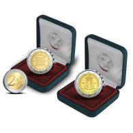 Belgien 2 Euro Sondermünzen 2017 Gent Lüttich