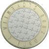 3  Euro Münze aus Slowenien