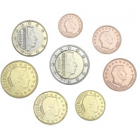 Luxemburg 3,88 Euro 2020 bfr lose 1 Cent bis 2 Euro 8 Münzen