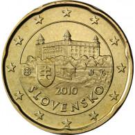 Slowakei 20 Cent 2010 bfr. Burg von Bratislava