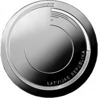 Lettland 1 Lats 2013 Silber PP 365 Grad