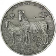 3 Oz Silbermünzen Zebra Kongo