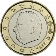 Belgien 1 Euro 1999 bfr. König Albert II.