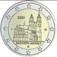 Deutschland-2-Euro-2021-Sachsen-Anhalt-Magdeburger-Dom-A-stgl-I