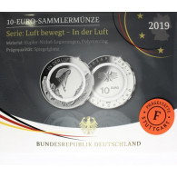 In der Luft – 10 Euro Münze Gleitschirm 2019 1. Ausgabe Polymerring bestellen