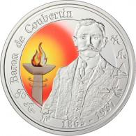 Belgien 10 Euro 2012 PP Baron de Coubertin