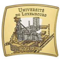 2,5 Euro 2019 Universität Luxemburg Silber-Nordic-Gold-Ausgabe eckig bestellen