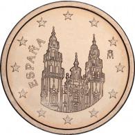 Spanien 1 Euro-Cent Kursmünze 2007 MotivKathedrale von Santiago de Compostela bestellen