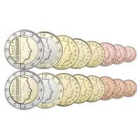 Luxemburg Euro Kursmünzensatz  3,88 Euro Bankfrisch Münzstreifen