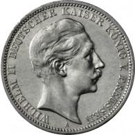 J.103 - Preussen 3 Mark - König Wilhelm II