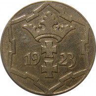 D 5 -   Danzig  10 Pfennig  1923