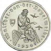 J. 344 -  3 Reichsmark 1930  v.d.Vogelweide -  Weimarer Republik
