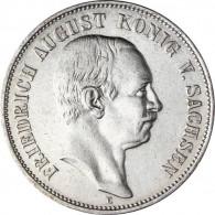 Kaiserreich Sachsen - J. 134  Sachsen 2 Mark 1905-1914  Fried. August III.