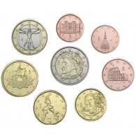 Italien 3,88 Euro 2013 bfr. 1 Cent bis 2 Euro lose im Münzstreifen