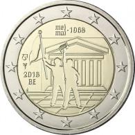 2 Euro Sondermünze aus Belgien Studentenrevolution