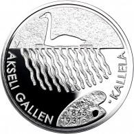 Finnland 20 Euro Silber 2015 PP Akseli Gallen-Kallela