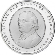 Gedenkmünze 10 Euro 2004 PP - Eduard Mörike
