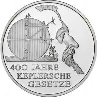 Gedenkmünze 10 Euro 2009 PP 400 Jahre Keplersche Gesetze