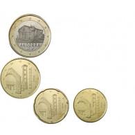 Andorra 1,80 Euro 2016 bfr. Mini Satz 10 Cent bis 1 Euro