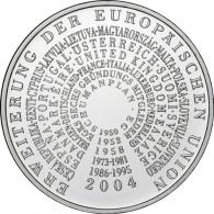 Gedenkmünze 10 Euro 2004 PP - EU-Erweiterung -