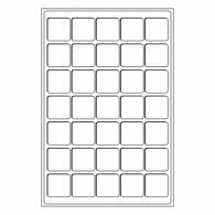 331597 -  Tableaus 35 Faecher Zubehoer für  10 und 20  Euro Muenzen