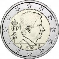 2 Euromuenze 2016 König Philippe Belgien