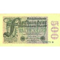 Reichsbanknote 500 Millionen Mark 1923 nach Rosenberg