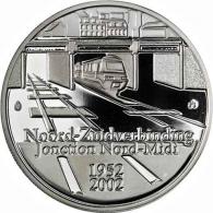 Belgien-10-Euro-2002-Silber-PP-Nordsüdbahn-I