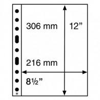 358072 -  Kunststoffhüllen SH 312 , 1 Tasche für A 4 Dokumente